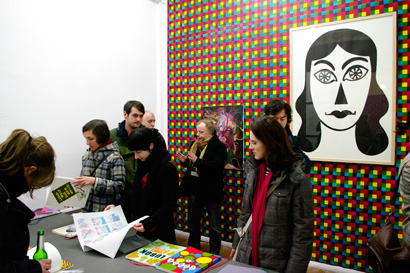 Vernissage Lubok bei Bongout