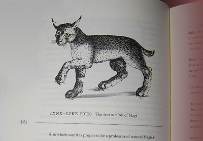 Objects of Knowledge. The Lynx